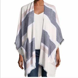 Vince Camuto Kimono Style Shawl / Poncho